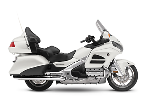 2015 Honda Goldwing non current blowout! White  airbag