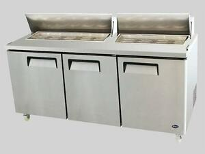 "72.7"" SANDWICH PREP TABLE -  BRAND NEW WITH WARRANTY"