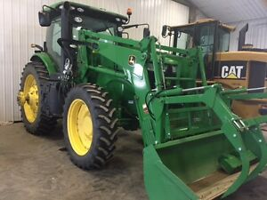 JD 7260R Tractor w/JD 480 MSL Ldr