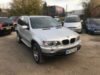 BMW X5 3.0 i SPORTS 5 dr Estate**SERVICE HISTORY**FULL LEATHERS**DVD SCREENS** VERY GOOD EXAMPLE**