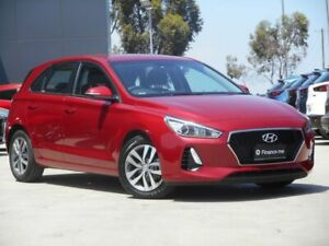 2018 Hyundai i30 PD2 MY18 Active Red 6 Speed Sports Automatic Hatchback Ravenhall Melton Area Preview