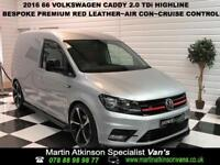 2016/66 Volkswagen Caddy 2.0TDI Highline 102PS 'R STYLING PACK'