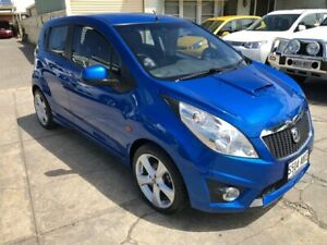 2010 Holden Barina Spark MJ CD Blue 5 Speed Manual Hatchback Park Holme Marion Area Preview