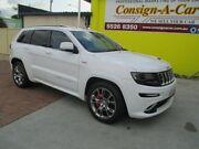2014 Jeep Grand Cherokee WK MY15 SRT White 8 Speed Sports Automatic Wagon Bundall Gold Coast City Preview