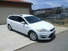 2010 Ford Mondeo MC LX PwrShift TDCi White 6 Speed Sports Automatic Dual Clutch Wagon Mount Lawley Stirling Area Preview