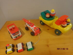 Vintage Fisher-Price & Little Tikes Vehicles:  All for $15!