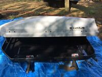 Car Roof Box - used once, great condition but missing one corner attachment