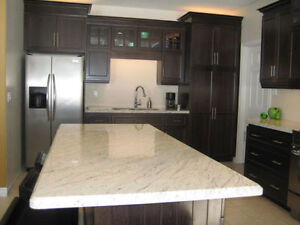 GRANITE AND QUARTZ COUNTERTOP, WASHROOM, ISLAND TOPS ON SALES!
