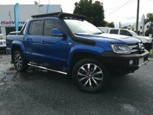 2017 Volkswagen Amarok 2H MY17 V6 TDI 550 Ultimate Blue 8 Speed Automatic Dual Cab Utility Currumbin Waters Gold Coast South Preview
