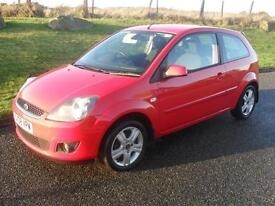Ford Fiesta 1.4TDCi 2008.25MY Zetec Climate FSH Good MPG Family Owned £30