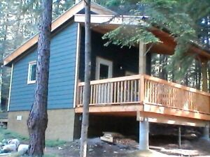 14.56 Acres with Cabin and Creek by Kootenay Lake