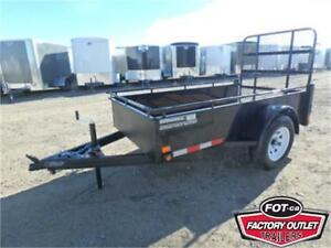 LOW LOW PRICES!! UTILITY TRAILERS BY CANADA TRAILERS *TAX IN*