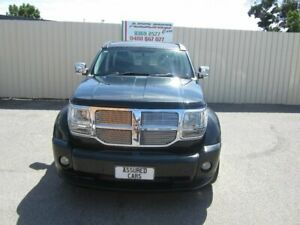 2009 Dodge Nitro KA MY08 SX Sparkling Black 4 Speed Automatic Wagon Windsor Gardens Port Adelaide Area Preview
