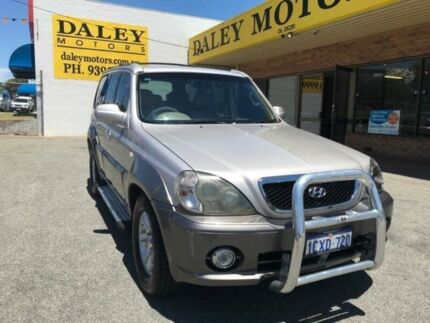 2004 Hyundai Terracan HP Highlander Silver 4 Speed Automatic Wagon Armadale Armadale Area Preview