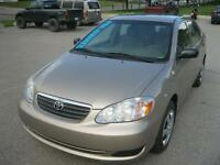 2005 Toyota Corolla LOW Km! Local one owner car!