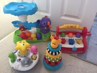 Lots of Great Toys - VTech Walker, Ball popper Elephant, Jumping Frog & more
