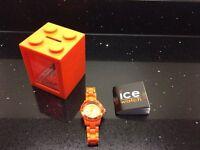 Ice Watch Solid Orange Watch Unisex
