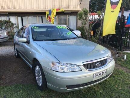 2002 Ford Fairmont Ice Mint Silver Automatic Sedan