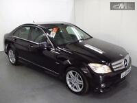MERCEDES C CLASS C220 CDI BLUEEFFICIENCY SPORT, Black, Auto, Diesel, 2009