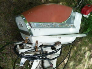 75 HP McCulloch outboard motor for repair or parts