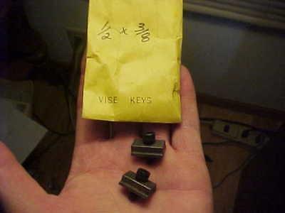 2 Nos Kurt Vise Keys 12 X 38 With Screws