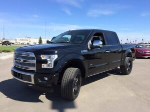 2017 Ford F-150 700A, PLATINUM, RIMS AND TIRES, HEADREST DVD PLA