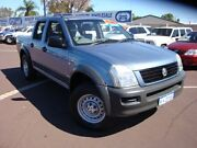 2006 Holden Rodeo RA MY06 LX Crew Cab Blue 5 Speed Manual Cab Chassis Carey Park Bunbury Area Preview