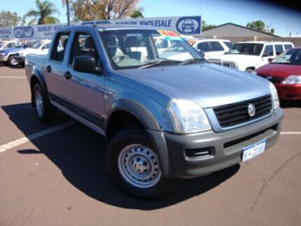 2006 Holden Rodeo RA MY06 LX Crew Cab Blue 5 Speed Manual Cab Chassis East Bunbury Bunbury Area Preview