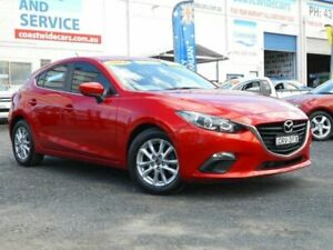2014 Mazda 3 BL Series 2 MY13 Maxx Sport Red 6 Speed Manual Hatchback Tuggerah Wyong Area Preview