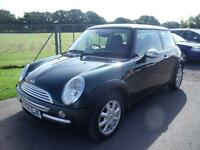 MINI HATCH ONE - FSH, Green, Manual, Petrol, 2004