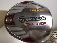 TaylorMade 10.5 degree Burner Driver - very good condition