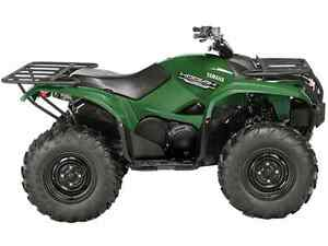2016 Yamaha Grizzly Non-EPS