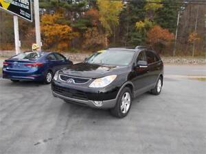 2012 Hyundai Veracruz GLS 7 PASS AWD W LEATHER  $1000 CASH BACK