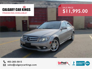2008 Mercedes-Benz C350 4matic Navi Certified with Warranty