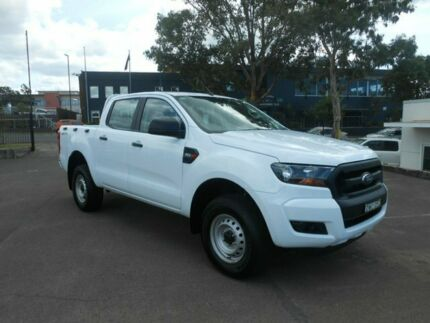 2017 Ford Ranger PX MkII XL Double Cab 4x2 Hi-Rider Frozen White 6 Speed Sports Automatic Utility Nowra Nowra-Bomaderry Preview