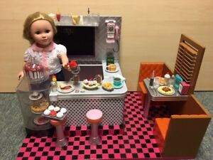 "Our Generation Retro Diner for 18"" Dolls"