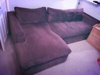 Corner / chaise sofa