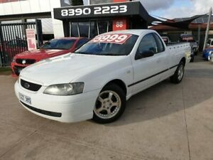 2003 Ford Falcon BA XL SE 4 Speed Auto Seq Sportshift Utility Deer Park Brimbank Area Preview