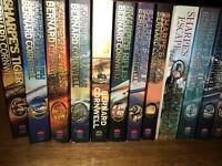 Sharpe's series - paperback - 19 books - unread, as new condition