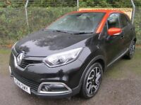 Renault Captur 1.5 Dynamique S MediaNav DCi 90 Turbo Diesel Energy 5DR (black/arizona) 2014