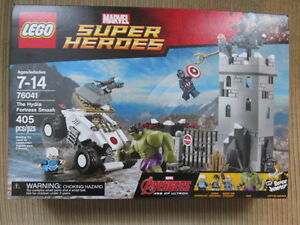 Lego Marvel Super Heroes The Hydra Fortress Smash Sealed