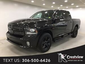 2016 Ram 1500 Sport Crew Cab | Leather | Sunroof | Navigation
