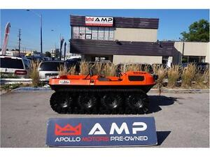 2005 ARGO CONQUEST 8X8 with tracks with Kawasaki Engine Low hrs