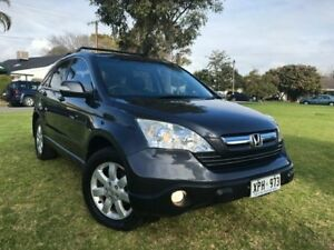 2007 Honda CR-V RE MY2007 Luxury 4WD Grey 5 Speed Automatic Wagon Somerton Park Holdfast Bay Preview