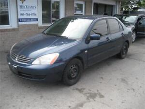 2006 Mitsubishi Lancer ES RUNS AND DRIVES NICE AS.IS DEAL