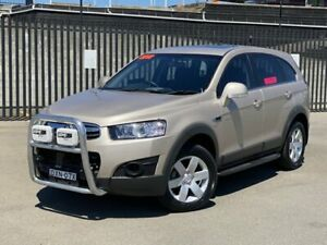 2012 Holden Captiva CG Series II MY12 7 SX Beige 6 Speed Sports Automatic Wagon New Lambton Newcastle Area Preview