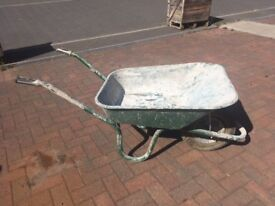 Heavy duty Wheel Barrow only used for 1 job but has a slow puncture