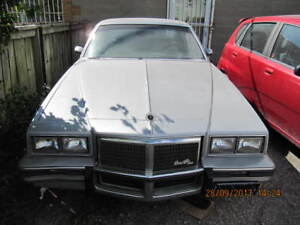 Classic 1984 GM Pontiac Grand PrixGbody For Parts Or Restoration