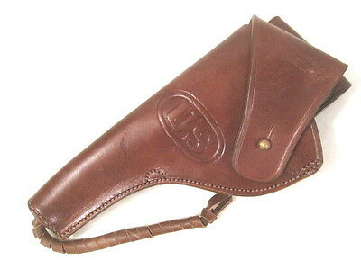 WWI US Army M1909 Leather Holster for Colt & S&W M1917 Revolver- Reproduction