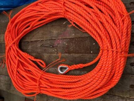 NEW ANCHOR ROPE